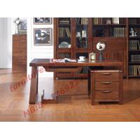Buy cheap Solid Wood Antique Design Furniture Desk with Drawers in Home Study Room use product