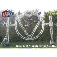 Buy cheap Spigot Booth Aluminum Dj Truss , Rotating Alminum Stage Truss Trolley product