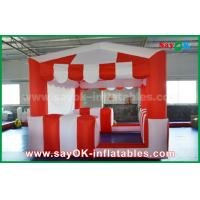 Buy cheap Red And White 210 D Oxford Cloth Inflatable Bounce For Children product