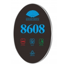 Buy cheap Organic Glass Hotel Door Number Sign Door Bell Socket Switch from wholesalers