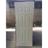 Buy cheap 2150mm heigh White Primer HDF Door Skin , Environmental Friendly, Model 3 product