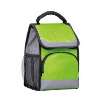 Buy cheap Aluminium Foil Insulated Lunch Cooler Bag 1 Mesh Bottle Pocket With Hand Belt product