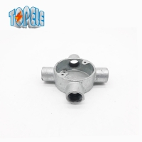 Buy cheap BS Electrical Conduit 4 Way 20mm Aluminum Junction Box from wholesalers