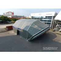 Buy cheap Permanent Clear Span Tent House / Outdoor Warehouse Tents Wind Resistance product