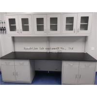 China Protecting High Temperature /  All Reagent Epoxy Resin  ChemicaL / Hospital / School All  Steel  Lab Bench Furnitures on sale