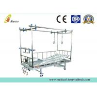 Buy cheap Two Column Type Orthopedic Traction Bed Hospital Vertebra 3 Crank Bed (ALS-TB02c) product