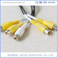 Buy cheap 13 Pin DC Connector Backup Camera Cable Socket To DC BNC RCA Cable Connector from wholesalers