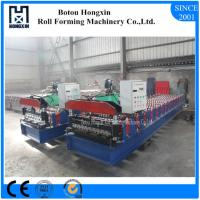 Buy cheap Aluminum Profile Corrugated Roof Sheeting Machine 760mm Cover Width product