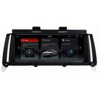 Buy cheap Ouchuangbo 12.5 inch gps navi radio android 9.0 for BMW X3 F25 X4 F26 2014-2016 CIC 4GB RAM 64GB rom 8 core product