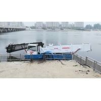 Buy cheap 5m Length 45Kw 2000m3 River Water Cleaning Machine Lake Weed Removal Machine product