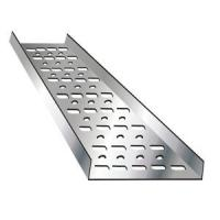 Buy cheap Chemical Factory Trough Type Cable Tray , Aluminum Ladder Cable Tray Support System product