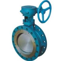 China CS SS Dual Eccentric Butterfly Valve / Double Offset Butterfly Valve on sale