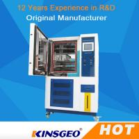 China SUS # 304 Stainless Steel High And Low Temperature Test Chamber With Air Cooled Condenser on sale