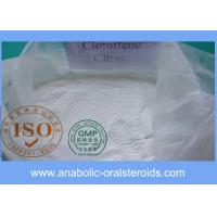 Quality Antiestrogen Steroid Powders Clomid / Clomiphene Citrate CAS 50-41-9 for Pct Cycle for sale