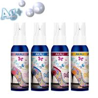 China Deodorant and antimicrobial Foot care spray, Ag+, Shoe clean, Athlete foot on sale