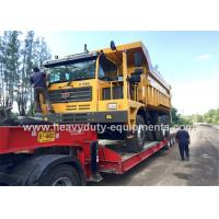 Buy cheap 60 tons Off road Mining Dump Truck Tipper  306kW engine power drive 6x4 with 34m3 body cargo Volume product