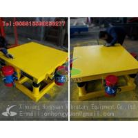 China Concrete Mould Vibrating Table from Hongyuan Vibratory Equipment on sale