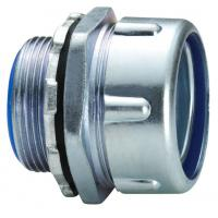 Buy cheap Water Proof Flexible Conduit Box Connector , Straight Ul Listed Conduit Connector product