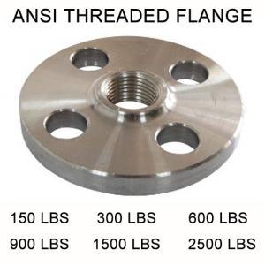 China Forged steel flange  ANSI ASME B16.5 THREAD FLANGE ,Forged carbon steel flange ,high quality forged flange , on sale