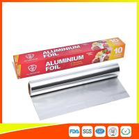 China Customized Household Aluminum Foil Roll For Food Wrapping , Aluminum Foil Paper wholesale