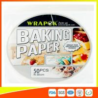 Buy cheap Round Silicone Baking Paper Sheets , Greaseproof Non Stick Paper For Baking product
