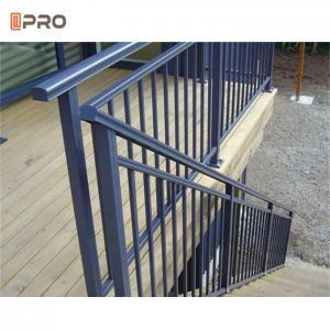 Buy cheap T6 Modern Aluminium Balcony Balustrades Personal Outdoor Terrace Railing product
