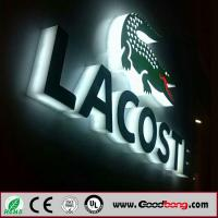 Buy cheap Backlit Acrylic LED Sign 3D Light Box Letter Sign product