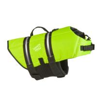 Buy cheap Green Float Coat Dog Life Jacket For Swimming Adjustable And Reflective Grab Handle product
