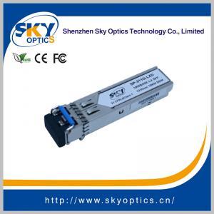 Buy cheap 1.25Gbps SFP Optical Transceiver Single Mode SFP LX module 1310nm 20km Reach product