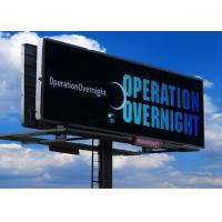 Buy cheap P10 SMD3535 RGB Outdoor Fixed LED Display Roadside Billboard Great Color Fidelity product
