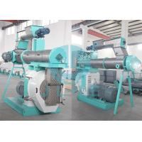 Buy cheap Ring Die Animal Feed Pellet Production Line 3 Ton Per Hour 380V 50HZ 55kw product