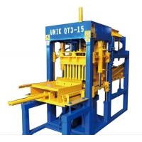 Buy cheap Hot selling QT3-15 Concrete Block Making Machine with low price product