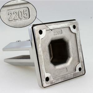 Buy cheap SS 304 316 Glass Railing Bracket / Glass Pool Fence Spigot / Glass Panel Mounting Hardware product