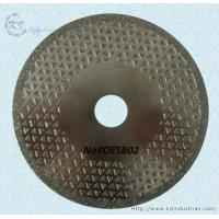 Buy cheap Electroplated Diamond Cutting Blades - DESB02 product