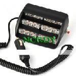 Buy cheap Red blue 44pcs Flux Car light Emergency Flashing warning Led  Police Firemen Strobe flash lamp product