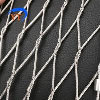 Buy cheap Safety X Type Knotted Stainless Steel Rope Mesh 304/316L product