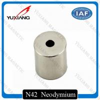 China Round Hollow Cylinder Ndfeb Permanent Magnet N52 Diametrically Magnetized on sale