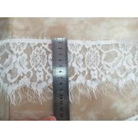 Buy cheap Elegant polyester lace,eyelash lace, embroidery lace fabric chemical lace fabric micro fiber lace fabric 150cm product