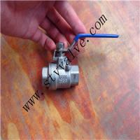 Buy cheap Stainless Steel Threaded 2PC Ball Valve (Lock Device) product