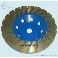Buy cheap Thickened Turbo Diamond Cup Grinding Wheel for Concrete - DGWS06 product