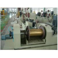 Buy cheap Copper flat wire second continuous rolling tensile coiling machine product