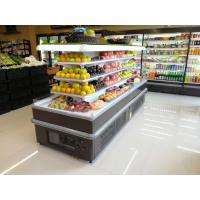 Buy cheap Square Island Open Display Refrigerator With Streaming Design / Multideck from wholesalers