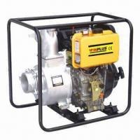 Buy cheap Diesel Water Pump with 406cc Displacement and 4-inch Port Diameter product
