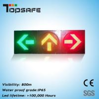 Buy cheap 200mm (8 inches) Traffic Signal Lamp with 3 Directional Arrows (TP-FX200-3-203-3) product