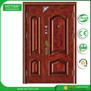Buy cheap single double steel safety door, iron indian main door designs product