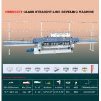 China HXM9320T Glass Straight-Line Beveling Machine on sale