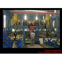 Buy cheap H Beam Fabrication Welding Equipment / Auto Saw Welder For Flange And Web Welding Seam product