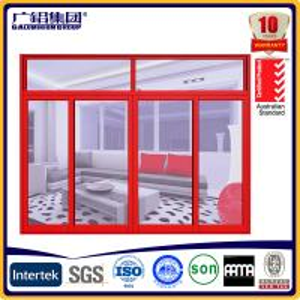 Buy cheap three sashes double glazing aluminium sliding window product