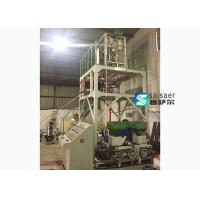 Buy cheap PVC  Three Layer  Plastic Film Blowing Machine Extrusion Blowing Machine product
