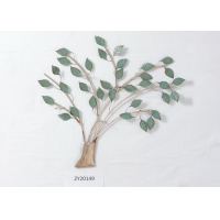Customized Decorative Hanging Float Metal Tree Wall Sconce